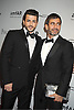 Marc Jacobs and Henry Louis attends the amfAR Inspiration Gala on June 7, 2012 at The New YOrk Public Library in New York City. The honorees were Fergie and Robert Duffy/ Marc Jacobhs International and the Scissor Sisters performed.