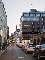 Street Scene in Sarajevo