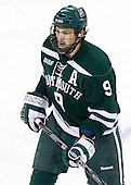 Matt Lindblad (Dartmouth - 9) - The Boston College Eagles defeated the visiting Dartmouth College Big Green 6-3 (EN) on Saturday, November 24, 2012, at Kelley Rink in Conte Forum in Chestnut Hill, Massachusetts.