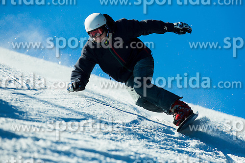 Rok Flander during training of Snowboarding Team Slovenia prior to the 2015 FIS Freestyle Ski and Snowboard World Championships in Kreischberg (AUT) on January 13, 2015 in Rogla, Slovenia. Photo by Vid Ponikvar / Sportida