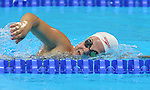 Rio de Janeiro-6/9/2016-Canadian swimmer  Camille Berube practices at the Olympic Aquatics Stadium prior to the Paralympic Games in Rio. Photo Scott Grant/Canadian Paralympic Committee