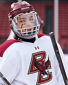 Luke McInnis (BC - 3) - The Boston College Eagles practiced at Fenway on Friday, January 6, 2017, in Boston, Massachusetts.