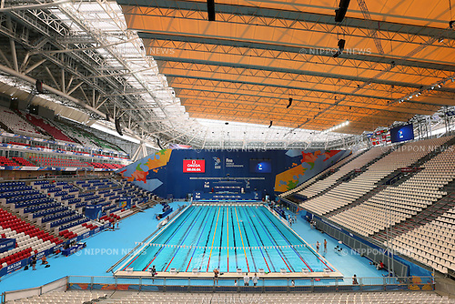 General view, JULY 30, 2015 - Swimming : 16th FINA World Championships Kazan 2015 Practice session at Kazan Arena in Kazan, Russia. (Photo by Yohei Osada/AFLO SPORT)
