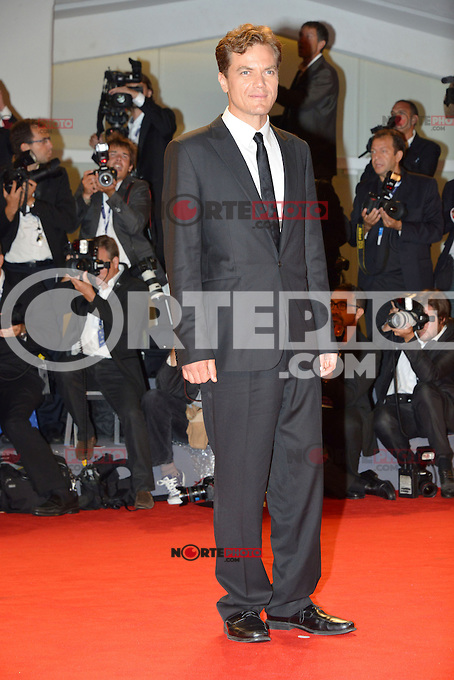 VENICE, ITALY - AUGUST 30: Actor Michael Shannon attends 'The Iceman' Premiere during the 69th Venice International Film Festival at Palazzo del Casino on August 30, 2012 in Venice, Italy AFG / Mediapunchinc