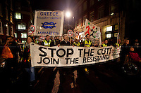"14.11.2012 - Demonstration in Solidarity with the ""European General Strike"""