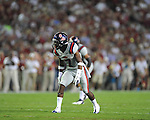 Ole Miss defensive back Trae Elston (7) vs. Alabama at Bryant-Denny Stadium in Tuscaloosa, Ala. on Saturday, September 29, 2012.
