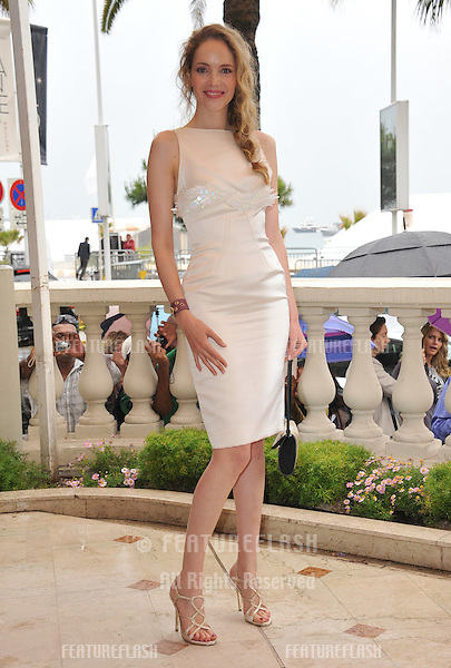 """Laura Weissbecker at photocall to promote her new movie """"Chinese Zodiac"""" at the 65th Festival de Cannes..May 18, 2012  Cannes, France.Picture: Paul Smith / Featureflash"""