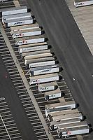 aerial photograph FedEx, Oakland, California