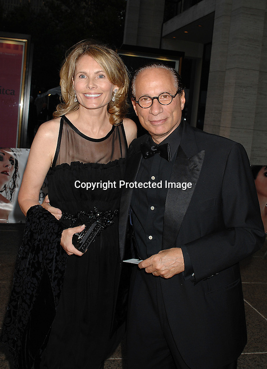 Allison and Leonard Stern..arriving at The Metropolitan Opera 2007-08 Opening Night on September 24, 2007 at The Metropolitan Opera House..in Lincoln Center in New York City. ....photo by Robin Platzer, Twin Images ....212-935-0770