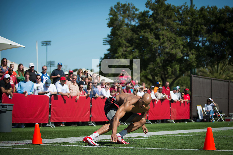 STANFORD, CA - NFL Pro Day on the Stanford campus