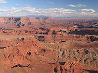 View of Colorado Plateau from Overlook at Dead Horse Point State Park, Utah, USA