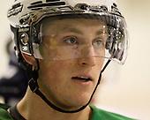 Jordan Schroeder (USA - 19) - Team USA practiced at the Agriplace rink on Monday, December 28, 2009, in Saskatoon, Saskatchewan, during the 2010 World Juniors tournament.