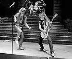 Ozzy Osbourne 1981 with Randy Rhoads rehearsal at San Bernardino Swing Auditotium <br /> &copy; Chris Walter