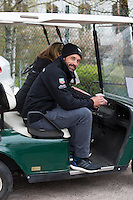 Patrick Dempsey on the race track of Spa-Francorchamps - Belgium - Exclusive