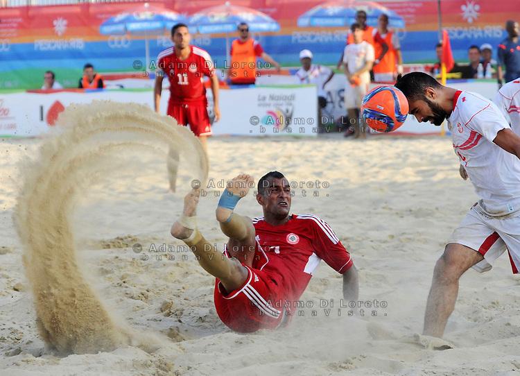 Beach Soccer, GRADA AHMAD (Libano), Pescara Agosto 27, 2015. Photo: Luciano Andriani
