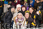 Amanda Fleming, Lorraine Fleming, Phil Fleming, Carmel O'Callaghan, Amanda Brosnan and Marian O'Callaghan, Dr. Crokes supporters, pictured at the AIB Munster Club SFC final Dr. Crokes v The Nire, Waterford, held in Mallow on Sunday last.