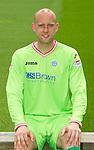 St Johnstone FC...Season 2011-12.Peter Enckelman.Picture by Graeme Hart..Copyright Perthshire Picture Agency.Tel: 01738 623350  Mobile: 07990 594431
