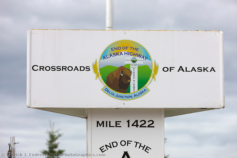 signs, Delta Junction, Alaska