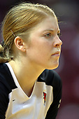 13 September 2011: Shannon McGlaughlin during an NCAA volleyball match between the Ramblers of Loyola and the Illinois State Redbirds at Redbird Arena in Normal Illinois.