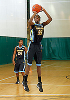April 10, 2011 - Hampton, VA. USA;  Austin Colbert participates in the 2011 Elite Youth Basketball League at the Boo Williams Sports Complex. Photo/Andrew Shurtleff