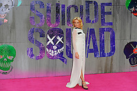 LONDON, ENGLAND - AUGUST 3: Clara Paget attending the 'Suicide Squad' European Premiere at Odeon Cinema, Leicester Square on August 3, 2016 in London, England.<br /> CAP/MAR<br /> &copy;MAR/Capital Pictures /MediaPunch ***NORTH AND SOUTH AMERICAS ONLY***
