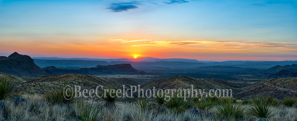 Another capture of the Sunset over Santa Elena Canyon from the sotal overlook in Big Bend National Park in far west texas.  This southwestern area of the US is part of Chihuahuan desert with the Sierra Ponce or dead horse mountains as it is sometimes called in the far distance.