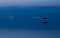 View of the Dead sea early morning