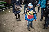 young cycling fan<br /> <br /> Krawatencross Lille 2017