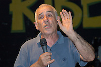 Roma 19 Giugno 2008.Renato Curcio founder of the Red Brigades