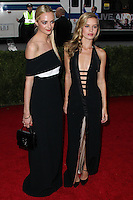 """NEW YORK CITY, NY, USA - MAY 05: Virginie Courtin Clarins, Georgia May Jagger at the """"Charles James: Beyond Fashion"""" Costume Institute Gala held at the Metropolitan Museum of Art on May 5, 2014 in New York City, New York, United States. (Photo by Xavier Collin/Celebrity Monitor)"""