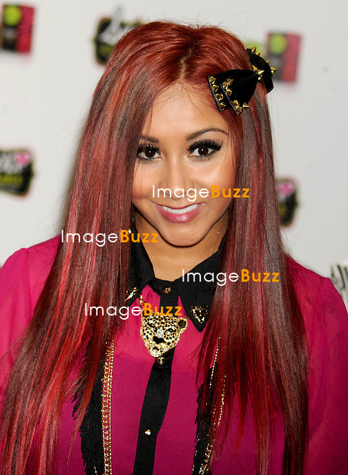 Snooki at a perfume launch at The Empire State Building in New York City. New York, November 19, 2012.