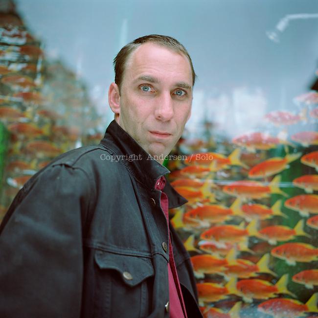 Will Self in 2001.