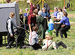 "Amish kids play volley ball on farm in Pennsylvania Dutch Amish country in Lancaster County PA, Pennsylvania Dutch in Amish Country Lancaster County Pennsylvania, Amish, Horse and buggy with amish family on backroads of Pennsylvainia, buggy, amish family, buggy and horse, Commonwealth of Pennsylvania, Commonwealth of Pennsylvania, natives, Northeasterners, Middle Atlantic region, Philadelphia, Keystone State, 1802, Thirteen Colonies, Declaration of Independence, State of Independence, Liberty, Conestoga wagons, Quaker Province, Founding Fathers, 1774, Constitution written, Photography history, Fine art by Ron Bennett Photography.com, Stock Photography, Fine art Photography and Stock Photography by Ronald T. Bennett Photography ©, All rights reserved copyright Ron Bennett Photography.Com, FINE ART and STOCK PHOTOGRAPHY FOR SALE, CLICK ON  ""ADD TO CART"" FOR PRICING,"