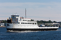 Cross Sound Ferry vessel New London heading inbound to New London, Connecticut