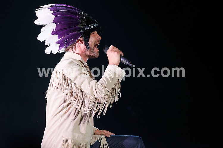 **ALL ROUND PICTURES FROM SOLARPIX.COM**                                             **WORLDWIDE SYNDICATION RIGHTS EXCEPT SPAIN & SOUTH AMERICA - NO SYNDICATION IN SPAIN OR SOUTH AMERICA**                                                                                  Jamiroquai with lead singer Jay Kay playing in Santiago, Chile.                                                                    This pic:    Jay Kay                                                                                          JOB REF:    13243    MPA       DATE:   30.04.11                                                         **MUST CREDIT SOLARPIX.COM OR DOUBLE FEE WILL BE CHARGED**                                                                      **MUST AGREE FEE BEFORE ONLINE USAGE**                               **CALL US ON: +34 952 811 768 or LOW RATE FROM UK 0844 617 7637**