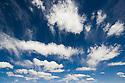 Bolivia, Altiplano, storm clouds above Altiplano