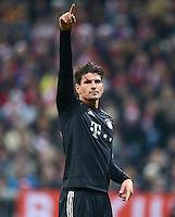 FUSSBALL   CHAMPIONS LEAGUE   SAISON 2012/2013   GRUPPENPHASE   FC Bayern Muenchen - FC Bate Borisov              05.12.2012 Mario Gomez (FC Bayern Muenchen)