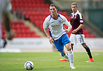 St Johnstone v Hearts...03.08.14  Steven Anderson Testimonial<br /> Gary McDonald<br /> Picture by Graeme Hart.<br /> Copyright Perthshire Picture Agency<br /> Tel: 01738 623350  Mobile: 07990 594431