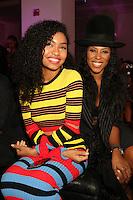NEW YORK, NY - NOVEMBER 16: Yara Shahidi and June Ambrose at the Sixth Annual WEEN Awards at ESPACE on November 16, 2016. Credit: Walik Goshorn/MediaPunch