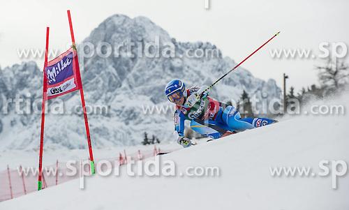 28.12.2013, Hochstein, Lienz, AUT, FIS Weltcup Ski Alpin, Lienz, Riesentorlauf, Damen, 1. Durchgang, im Bild Jessica Lindell-Vikarby (SWE) // during the 1st run of ladies giant slalom Lienz FIS Ski Alpine World Cup at Hochstein in Lienz, Austria on 2013-12-28, EXPA Pictures © 2013 PhotoCredit: EXPA/ Michael Gruber