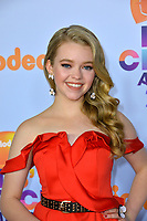 Actress Jade Pettyjohn at the Nickelodeon 2017 Kids' Choice Awards at the USC's Galen Centre, Los Angeles, USA 11 March  2017<br /> Picture: Paul Smith/Featureflash/SilverHub 0208 004 5359 sales@silverhubmedia.com