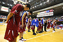 Toshiba Brave Thunders Team Group (Brave Thunders), October 14, 2011 - Basketball : JBL 2011-2012 match between Toshiba Brave Thunders 42-89 Hitachi Sunrockers at Kawasaki Todoroki Arena, Kanagawa, Japan. (Photo by Daiju Kitamura/AFLO SPORT) [1045]