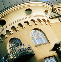 Close up of an architectural building, Helsinki, Finland