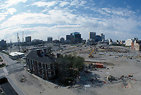 1997 APRIL 03..Redevelopment..Macarthur Center.Downtown North (R-8)..LOOKING SOUTH.SUPERWIDE...NEG#.NRHA#..