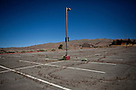 The parking lot of the abandoned  Northgate Golf Course in Reno, Nevada, May 22, 2012.