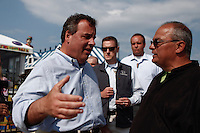 Seaside Heights,, USA. 23th May 2014. New Jersey Governor Chris Christie visit Belmar As the summer season gets underway over the Memorial Day weekend. Kena Betancur/VIEWpress