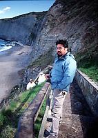 2003 , GIJON ASTURIA: LUIS SEPULVEDA  © Leonardo Cendamo