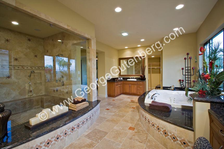 Stock Photo Of Residential Bathroom Interior Design Stock
