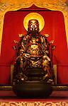 Buddha statue at Foshan Ancestor Temple altar in Foshan, Guangdong, China 2016