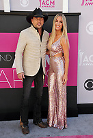 Jason Aldean &amp; Brittany Kerr at the Academy of Country Music Awards 2017 at the T-Mobile Arena, Las Vegas, NV, USA 02 April  2017<br /> Picture: Paul Smith/Featureflash/SilverHub 0208 004 5359 sales@silverhubmedia.com